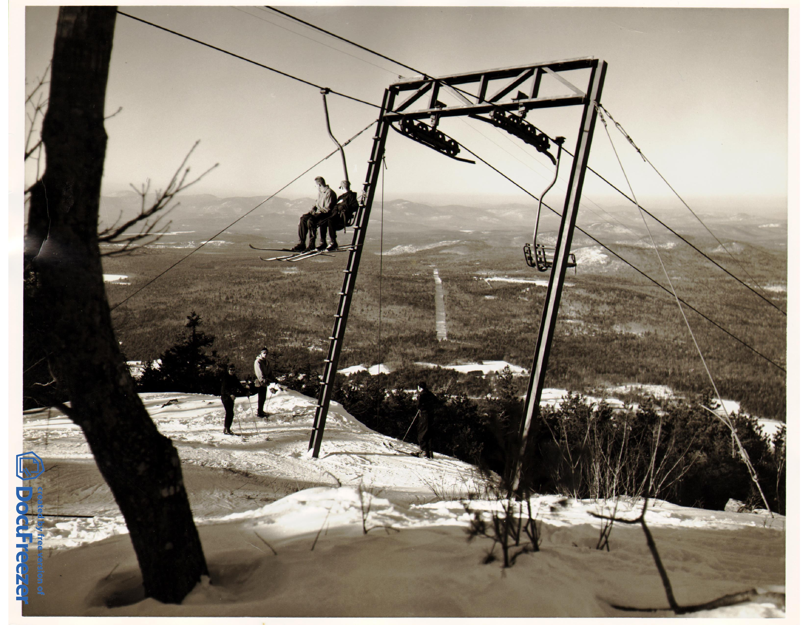 1954 - First Chairlift in Maine